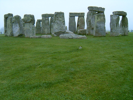 Monolithes de Stonehenge (UK, 31 Octobre 2004)