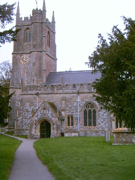 L'église d'Avebury (UK, 31 Octobre 2004)