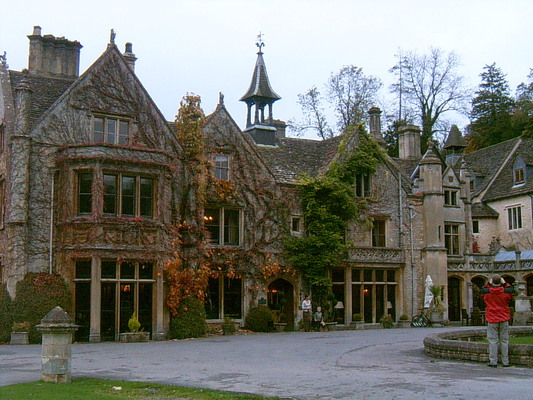 Le manoir de Castle Combe (UK, 31 Octobre 2004)