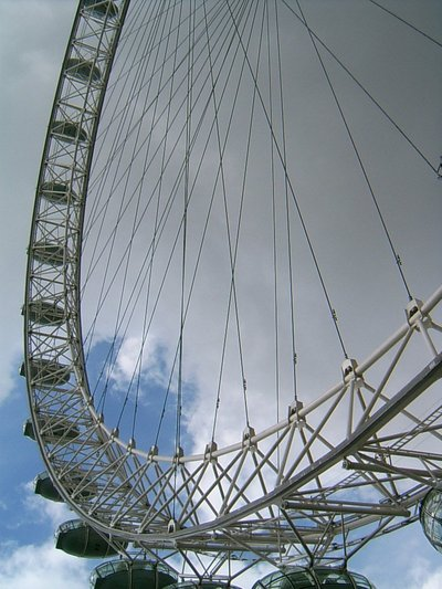London's Big Eye (Londres, 1 juillet 2005)