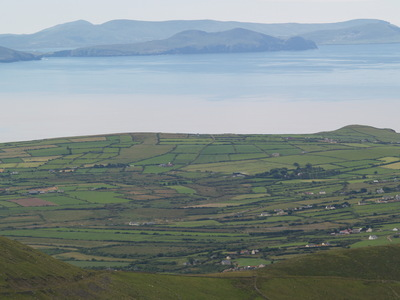 Vue sur la péninsule de Dingle (Connor Pass, 1 août 2005)