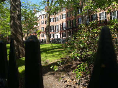 Louisburg Square (Boston, 7 mai 2006)