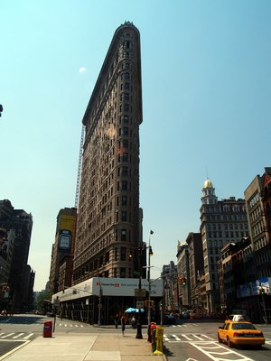 The Ironflat building (New-York City, 18 juin 2006)