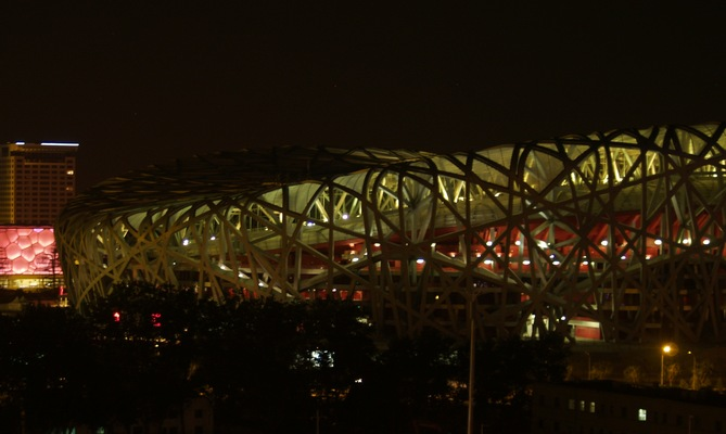 Le Nid, stade olympique (22 avril 2008)