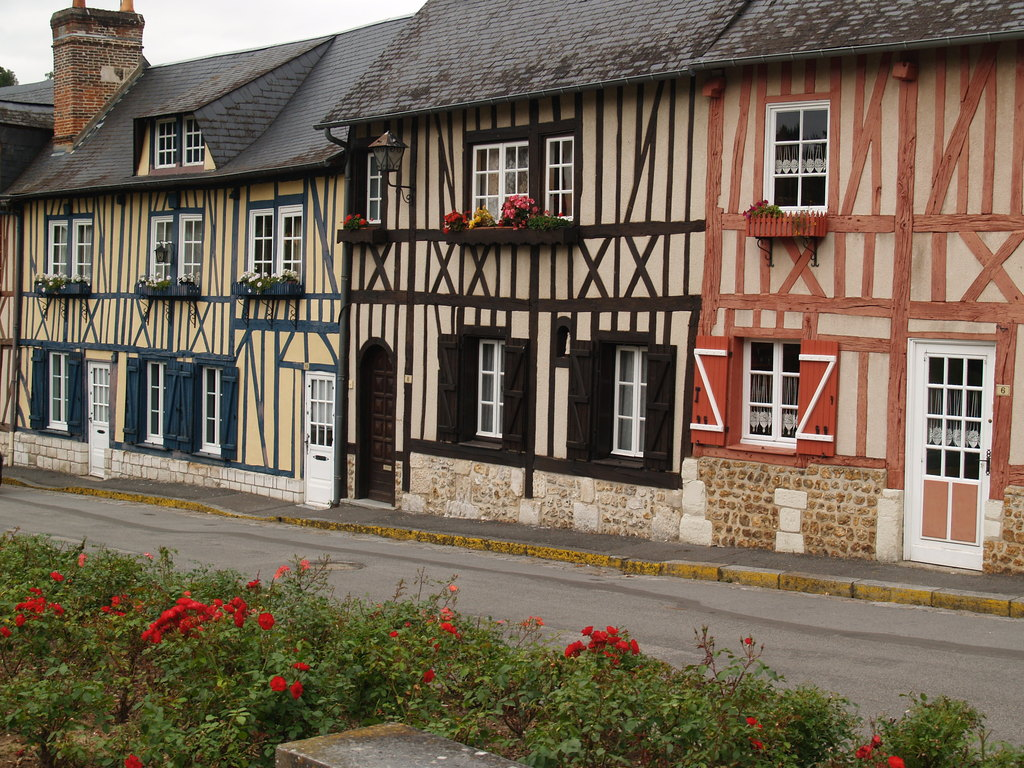 Normandie - Maison colombage normandie ...