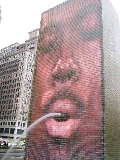 Crown Fountain (28 septembre 2008)