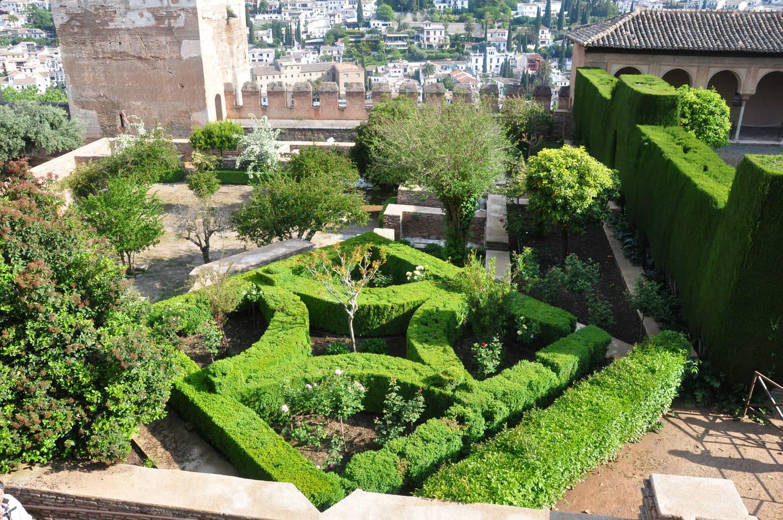 jardin attenant au palais nasrides de lalhambra 13 mai 2010 - Jardin De L Alhambra